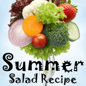 The Chew: Daphne Oz's Grilled Cantaloupe and Vegetable Salad Recipe