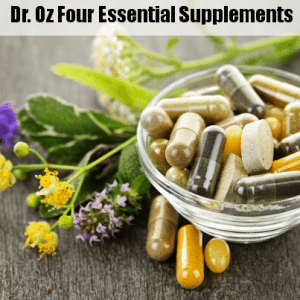 Dr Oz: 80-20 Rule, Sharecare Symptom Tracker & 4 Essential Supplements