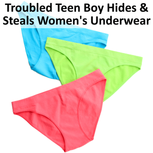 Dr Phil: Warning Signs of Troubled Teens, Stealing Women's Underwear