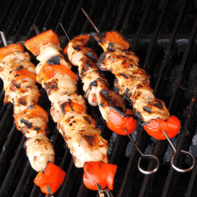 On The Chew May 21, 2015, they'll make a great Grilled Sweet Chili Ranch Chicken Skewers recipe and talk to Questlove. (chloe7992 / Shutterstock.com)