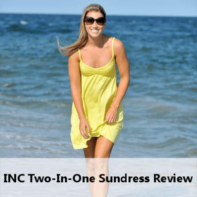 Beach Outfits Under $100: INC 2-In-1 Sundress Review & Joe Fresh