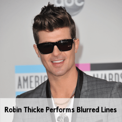 "Robin Thicke Performs ""Blurred Lines"" & ""Take It Easy On Me"""
