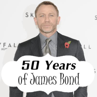 James Bond 50th Anniversary, Product Placement & Who Played Bond?