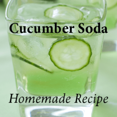 Richard Blais Cucumber Soda, Earth and Turf Burger & Grilling Veggies