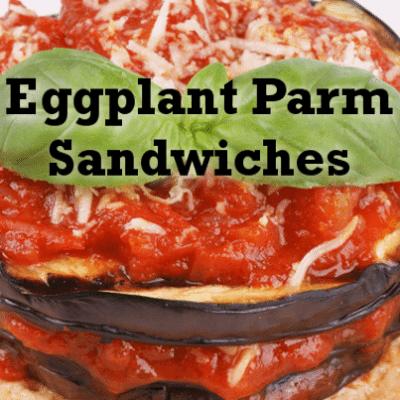 The Chew Quick Lunch: Eggplant Parm Hero Recipe By Mario Batali