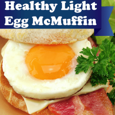 Dr Oz: Fast Food Freshness & Lower Fat Egg McMuffin Recipe