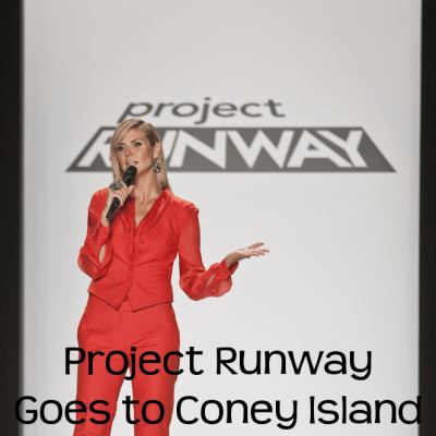Kelly & Michael: Heidi Klum Project Runway Goes to Coney Island