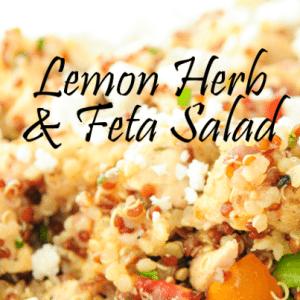 Daphne Oz Lemon Herb & Feta Salad Recipe & Denise Richards Twisted