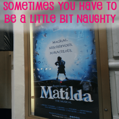 "Matilda the Musical ""Naughty"" Review & Selena Gomez Baby Sister Gracie"