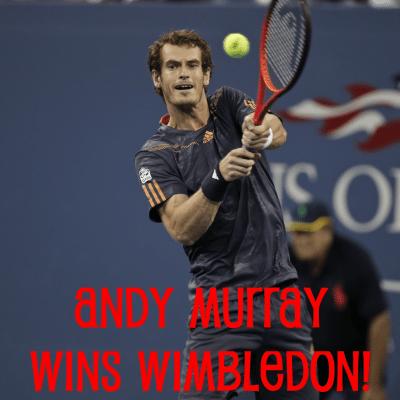 Andy Murray Forgets to Hug Mom After Big Win, Celeb Wimbledon Bromance