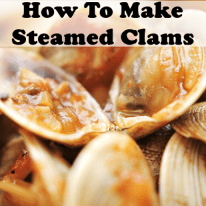Mario Batali Steamed Clams Recipe in Spicy Brodetto with Garlic Bread