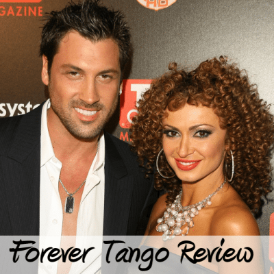 The View: Karina Smirnoff & Maksim Chmerkovskiy Heat Up Forever Tango