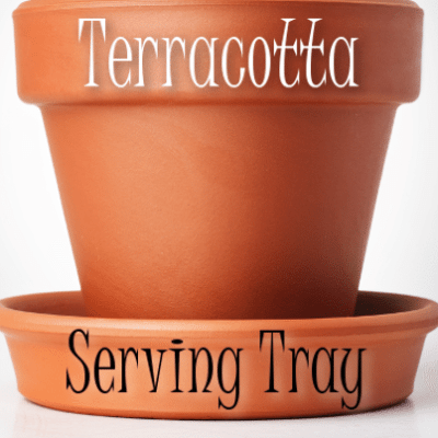 The Chew: Clinton Kelly Terracotta Planter Serving Tray Craft Project