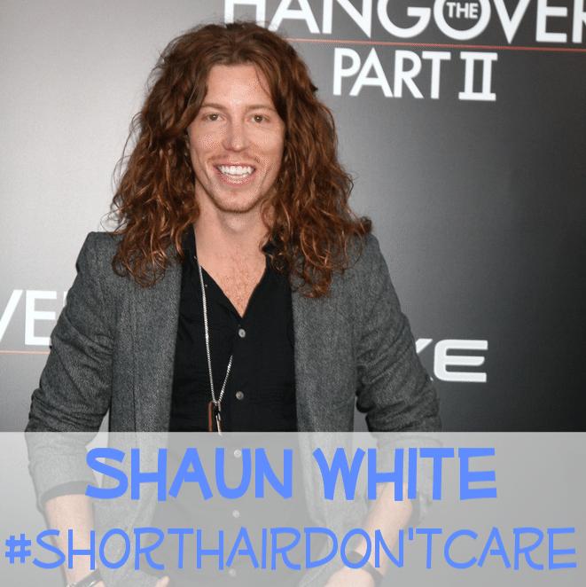 Shaun white short hair 2014