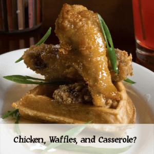 Rachael Ray: Maple Chicken & Waffles Casserole Breakfast Recipe
