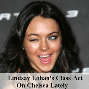 Lindsay Lohan On Chelsea Lately & Baby Elephant In A Kiddie Pool