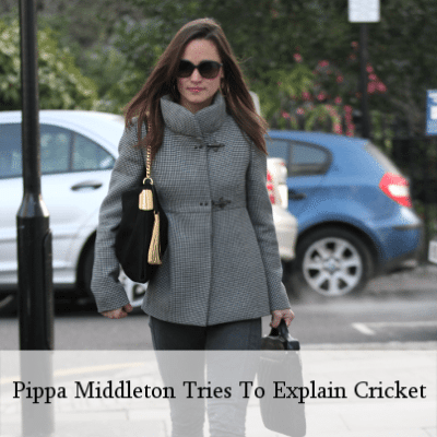 Today Show: Pippa Middleton Writes About Cricket For Vanity Fair