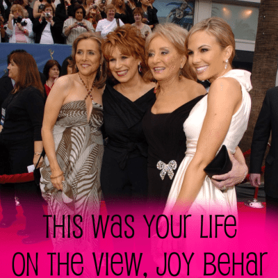 Regis Philbin Launched Joy Behar's Career & Kissing Barbara Walters