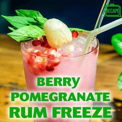 Pomegranate Freeze Recipe, Overnight Sangria & Strawberry-Thyme Chill