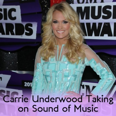 Carrie Underwood Brad Pasiley Hosting CMAs & Sound Of Music Live Event