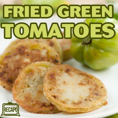 The Chew: Fried Green Tomatoes Recipe with Crab Salad