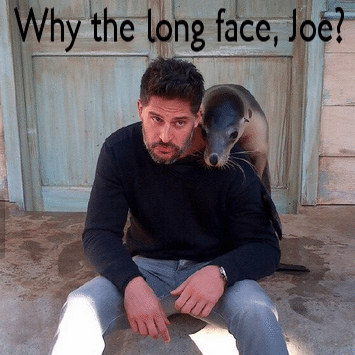 Keri Russell The Americans & Joe Manganiello Hilarious Seal Photo