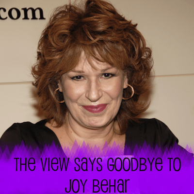 The View: Goodbye to Joy Behar After 16 Years, Tony Bennett Performs