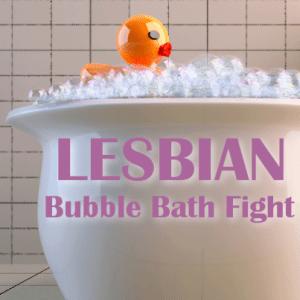 Bubble Bath Lesbian 11