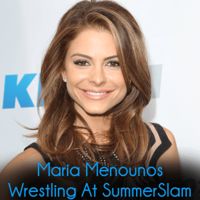 Maria Menounos Wrestling for SummerSlam & Prince's First Tweet