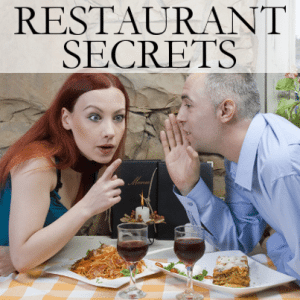 Katie: Restaurant Stakeout Secrets + Insider Beauty Health Warning