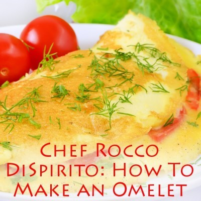 Chef Rocco DiSpirito & Barbara Walters: How To Make An Omelet