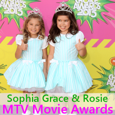'Scandal' Star Tony Goldwyn + Sophia Grace & Rosie MTV Movie Awards