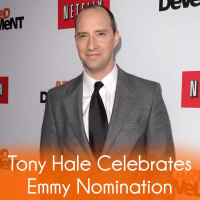 The Talk: Tony Hale Emmy Nomination & Naked for Arrested Development