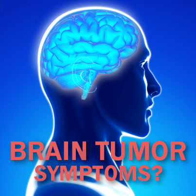 Brain tumor symptoms right frontal lobe
