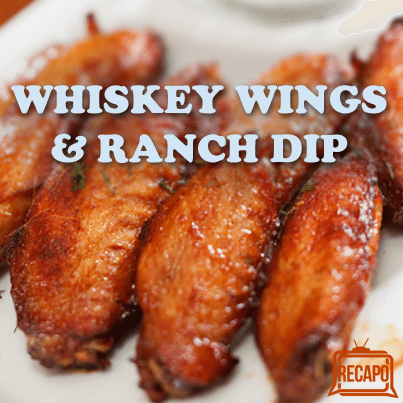 Whiskey Wings Recipe + Hot Wings with Blue Cheese Ranch by Rachael Ray