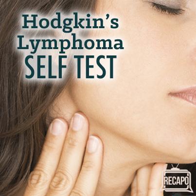 Dr Oz: Lymph Node Self-Test, Hodgkin's Disease Symptoms