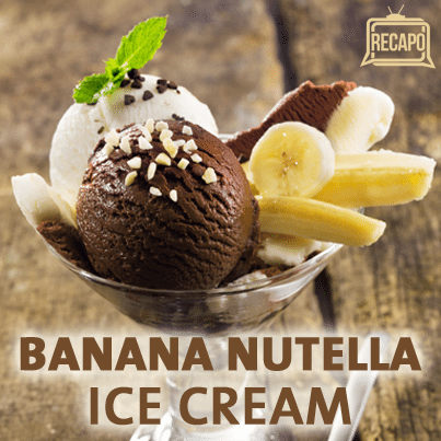 2-Ingredient Desserts: Banana Nutella Ice Cream Recipe & Maple Souffle