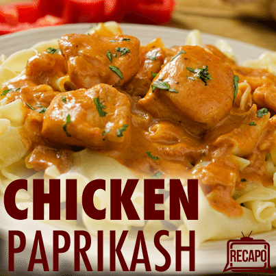 The Chew: Michael Symon Chicken Paprikash Recipe with Spaetzle