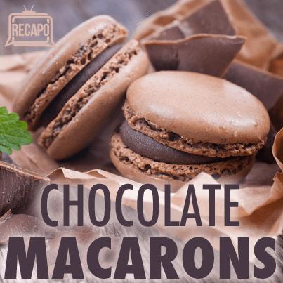 Chocolate French Macarons Recipe & Marcella Hazan Tomato Sauce