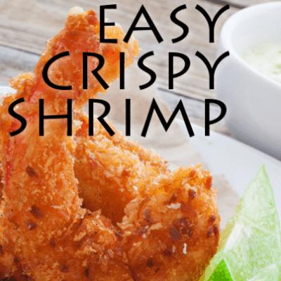 Jessica Seinfeld Crispy Shrimp Recipe & The Can't Cook Book Review