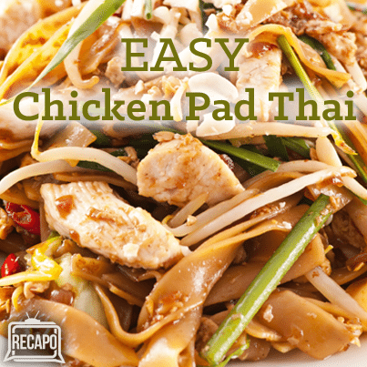 The Chew: Chicken Pad Thai Recipe & Tyler Blackburn Ravenswood Review