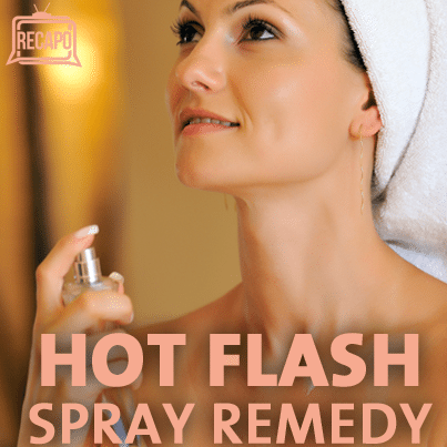 Dr Oz: DIY Hot Flash Spray, Trail Mix Recipe & Black Cohosh Review