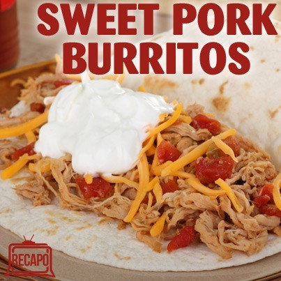 Rachael Ray: Mitt & Ann Romney's Sweet Pork Burritos Recipe + Cookbook