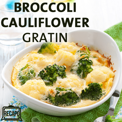 ... with Country Greens vs a Spicy Broccoli & Cauliflower Gratin recipe