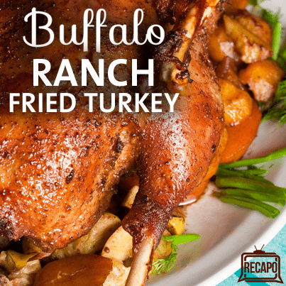 Rachael Ray: Buffalo Ranch Fried Turkey Recipe + Indoor Turkey Fryer