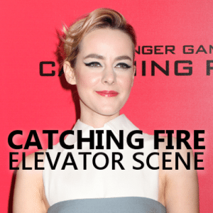 Kelly and Michael: Jena Malone Elevator Scene in Catching Fire