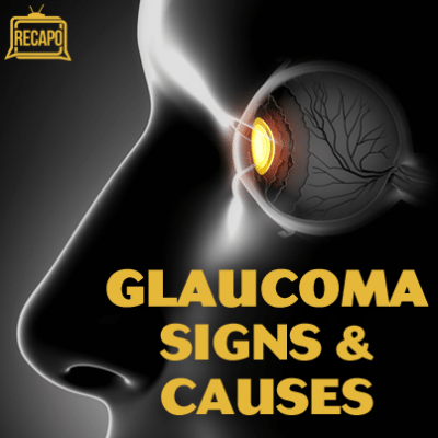 Dr Ian Smith underwent an eye exam and Dr Kerry Assil explained what causes glaucoma.