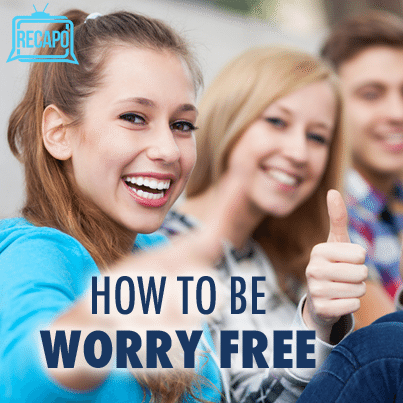 Dr Oz: Winning the War on Worry with Worry List & Positivity Jar