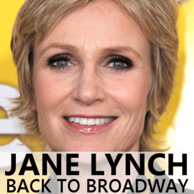 Jane Lynch Hollywood Walk Of Fame Star & Glee Moving To New York?