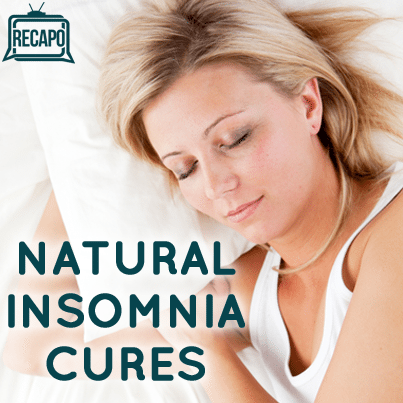 how to fix insomnia naturally